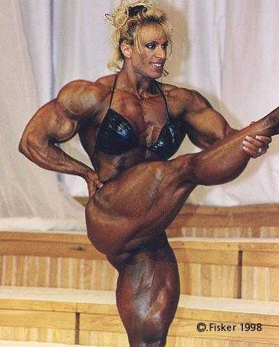 pics of female body builders big boobs